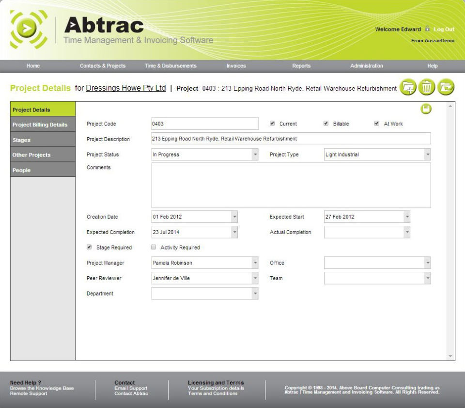 Abtrac Software - 3