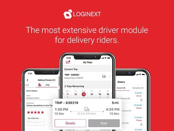 LogiNext Mile Software - 2