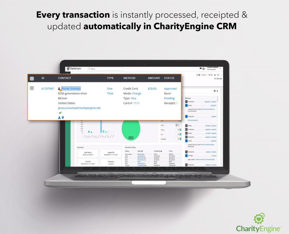CharityEngine Software - 1