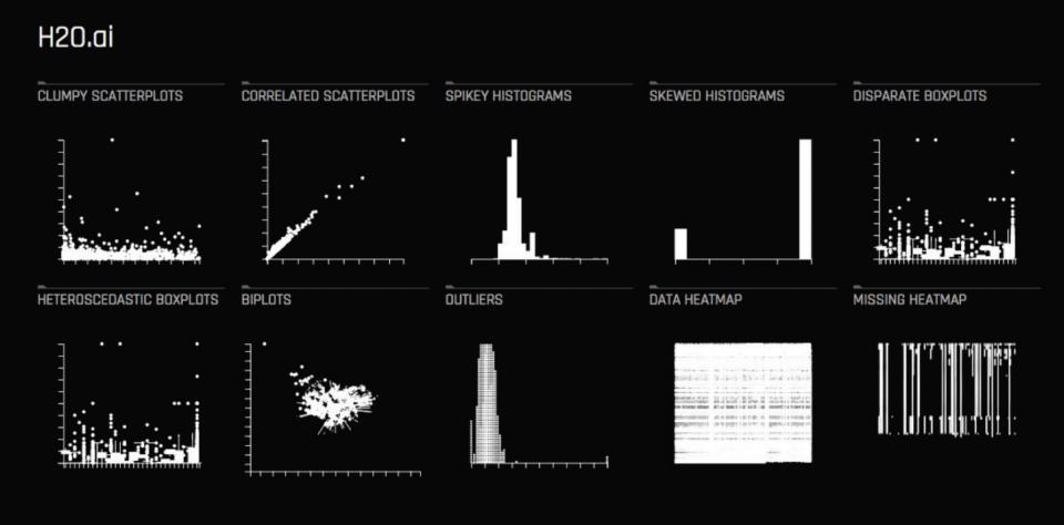 H2O Driverless AI automatic visualizations