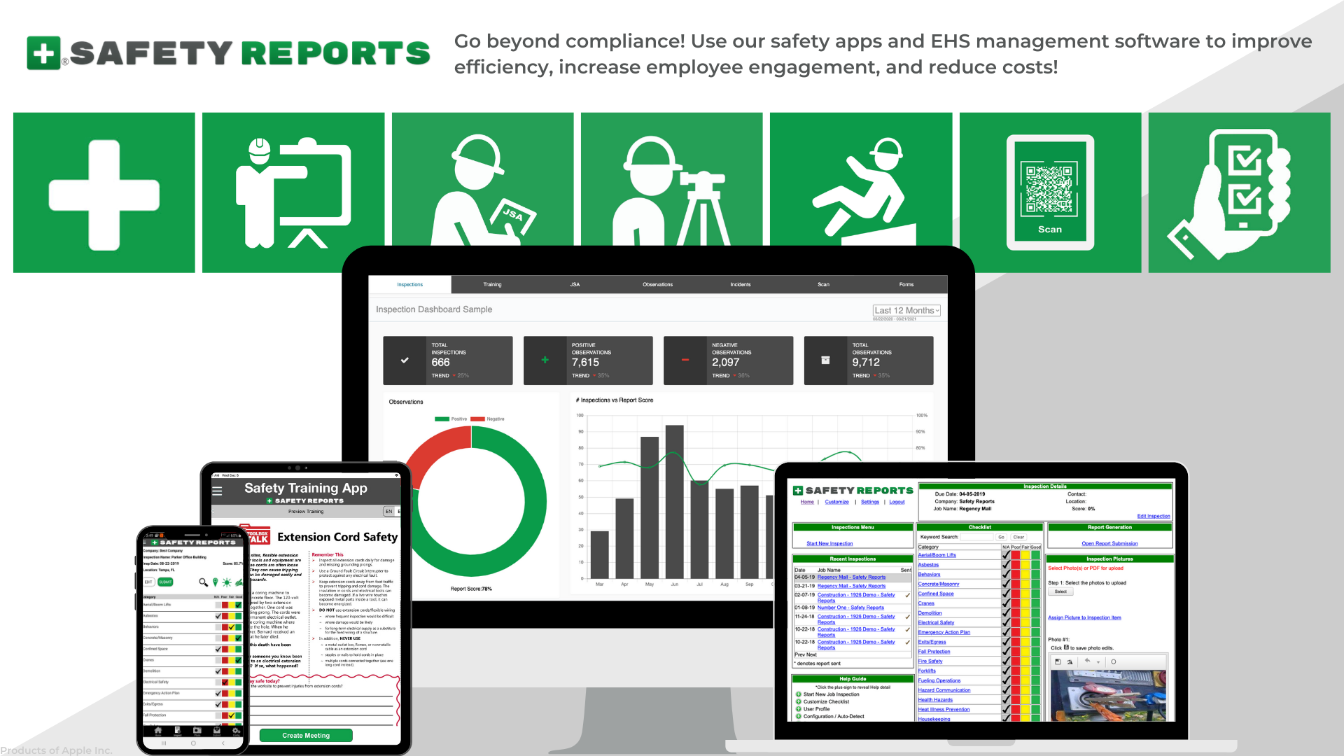 Safety Reports Software - 3