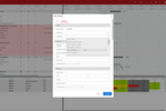 Prometheus Platform screenshot: Prometheus Platform mass change scheduler