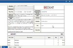 Capture d'écran pour ECOUNT : Invoice creation