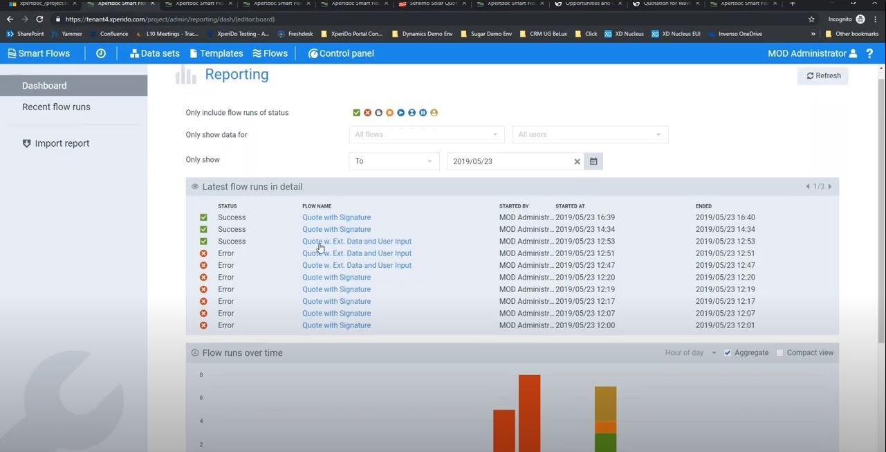 Xpertdoc Software - Xpertdoc reporting