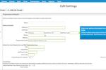 Capture d'écran pour Jackrabbit Care : Jackrabbit Care's Setting tab allows to edit and modify settings