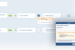 Pipeliner CRM Screenshot: Workflow automation engine (no-code)
