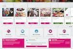 Capture d'écran pour Absorb LMS : Custom branded learner interface