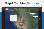 BiznusSoft Field Service screenshot: Integrates with Google Maps