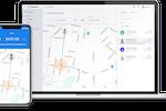 Hubstaff screenshot: Geofencing feature in device