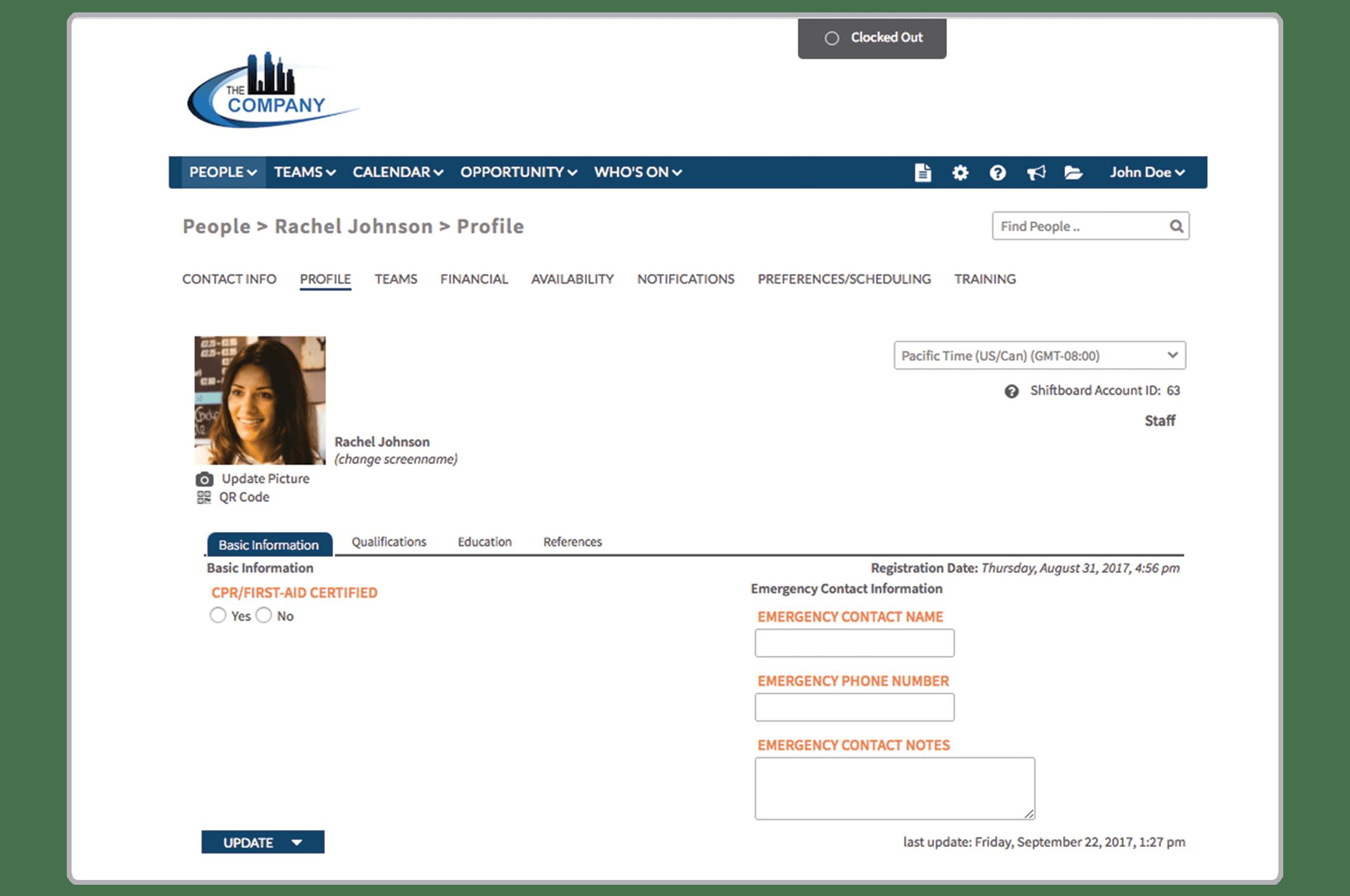 Shiftboard Software - Profile