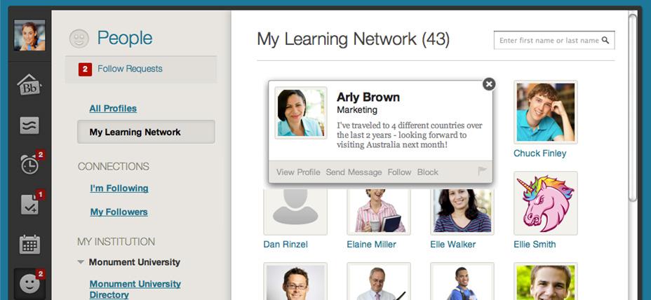 Blackboard Learn Software - My learning network