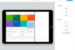 Square for Restaurants screenshot: The POS interface can be customized