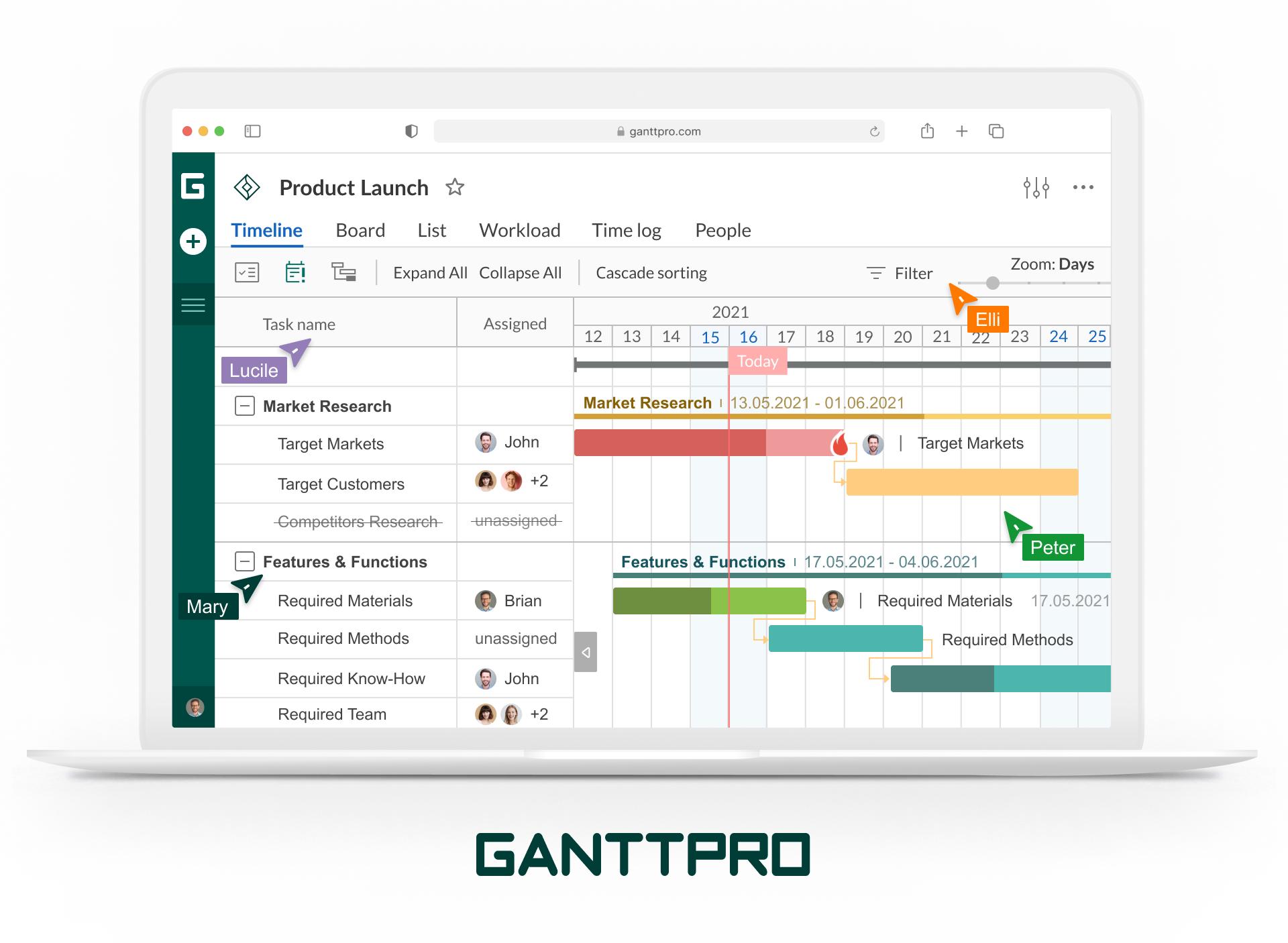 GanttPRO Logiciel - 1