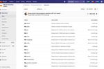 Captura de pantalla de GitLab: GitLab's git repositories come complete with branching tools and access controls, providing a scalable, single source of truth for collaborating on projects and code