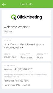 ClickMeeting Software - 2