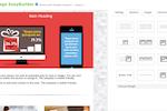 GreenRope screenshot: Create a custom landing page