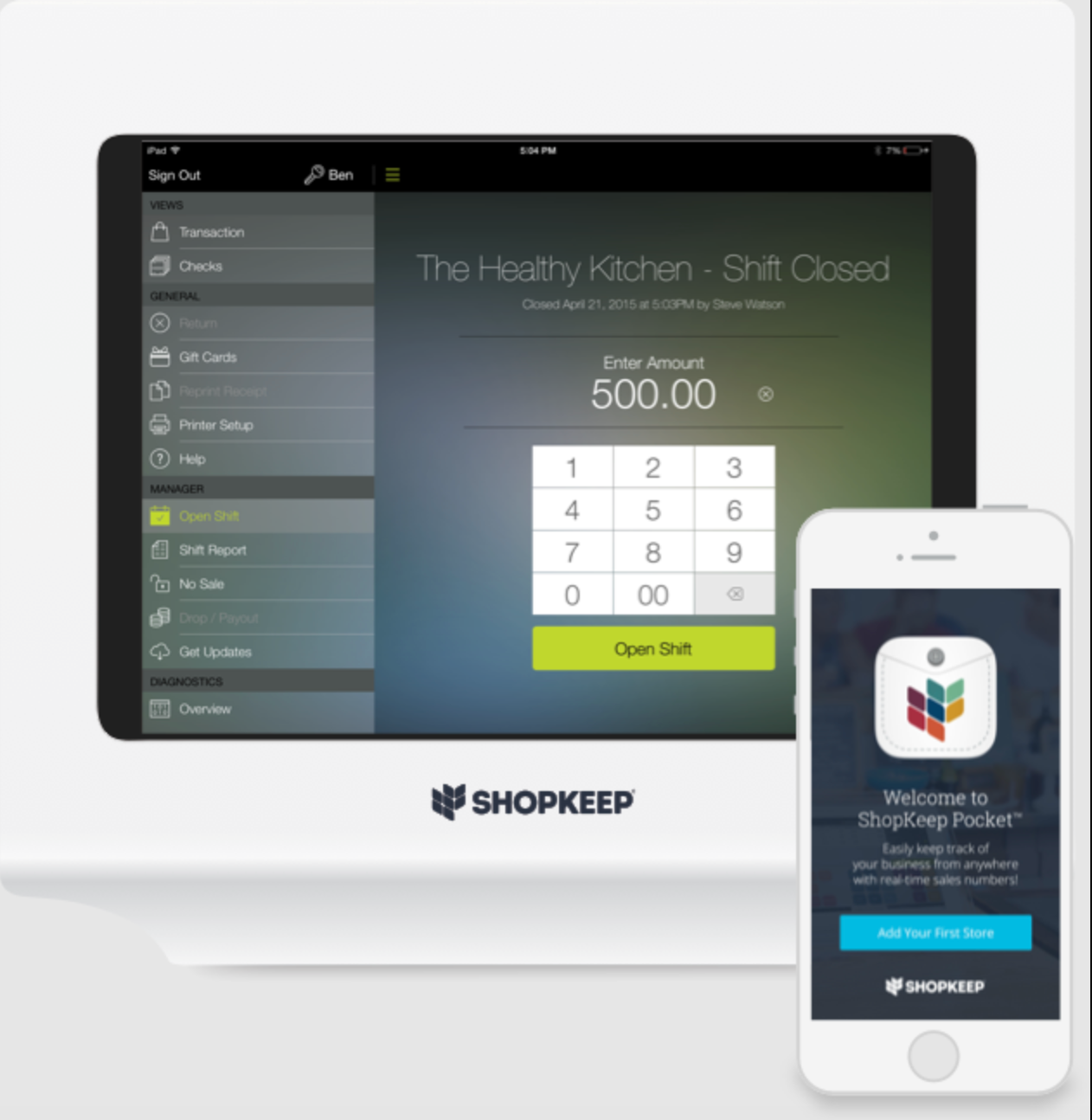 ShopKeep Software - 5
