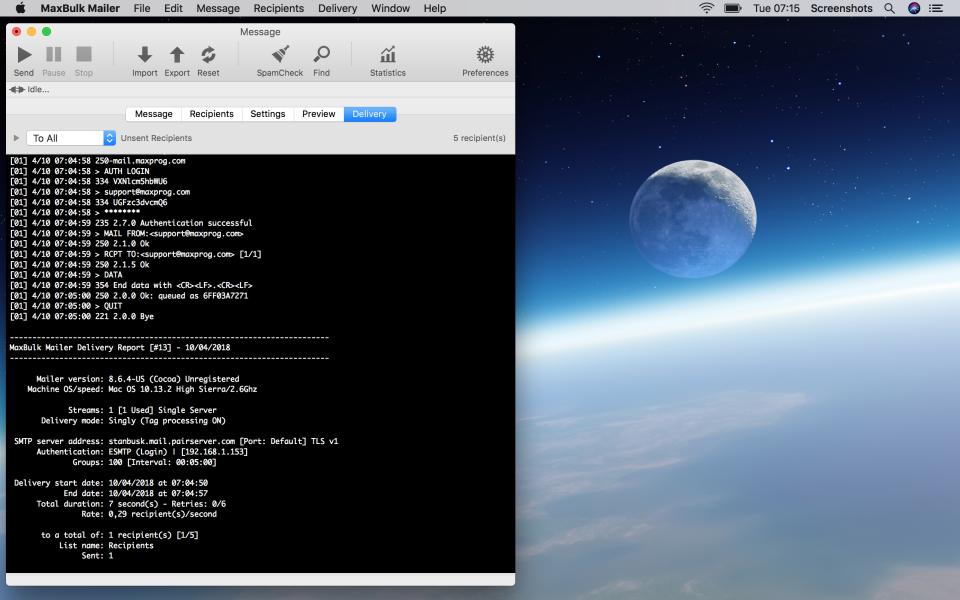 MaxBulk Mailer Software - 4