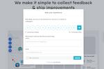 Captura de pantalla de Usersnap: Measure customer experience with NPS, CSAT, CES etc.