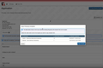 Scholarship Lifecycle Manager screenshot: Applicants can automatically copy over questions from previous applications
