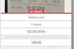 ONexpense screenshot: ONexpense edit receipt