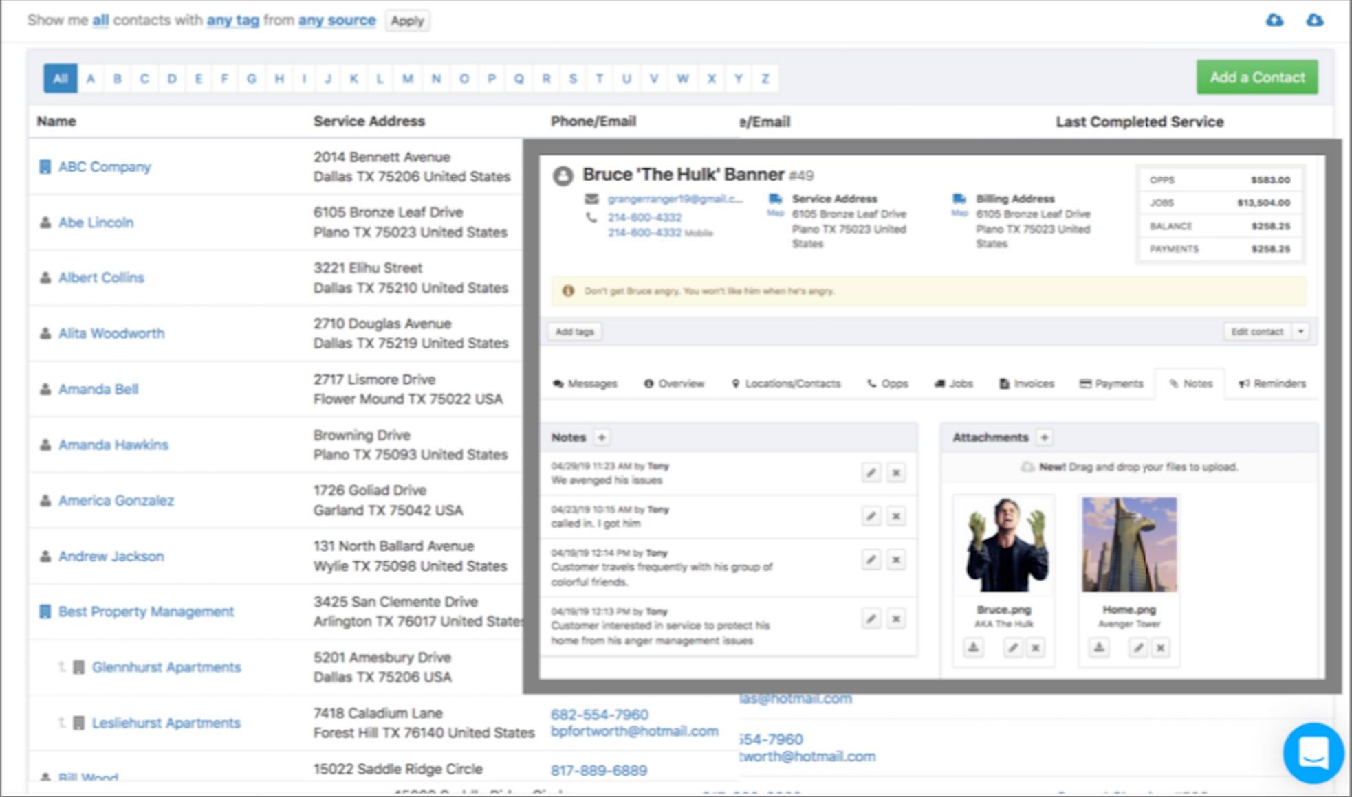 Kickserv Software - Customer management