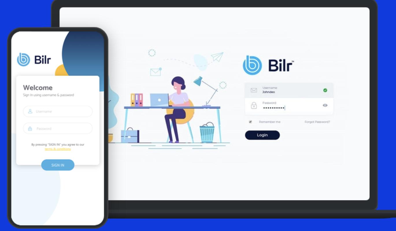 Bilr mobile and desktop