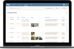 Fibo screenshot: Keep a photo diary for all jobs complete with incidents and notes