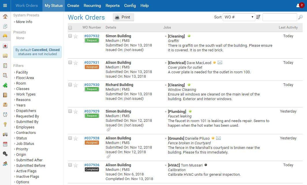 eBASE Software - eBASE work orders