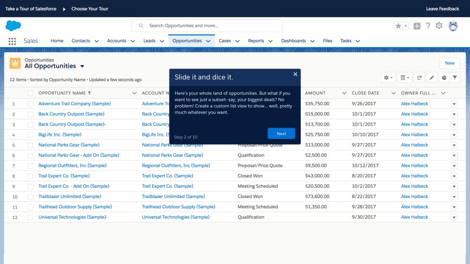 Salesforce Essentials Software - Opportunities