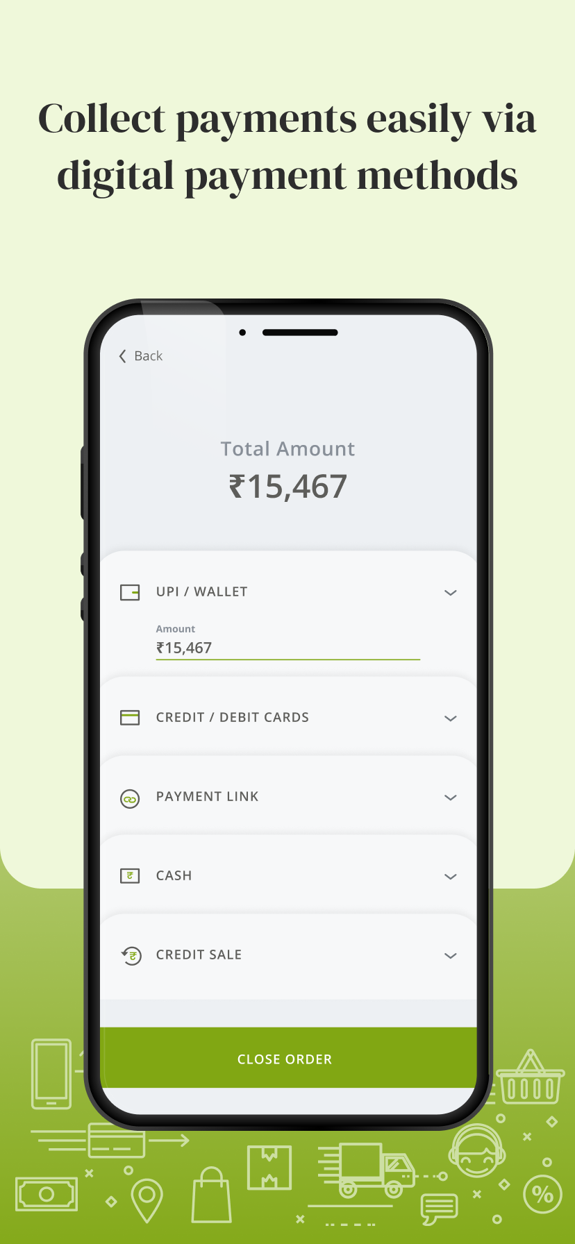 Easily collect digital and cash payments. All your money can be tracked from one place.