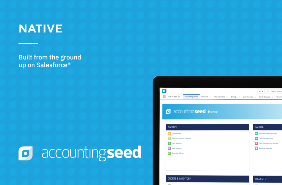 Accounting Seed Software - Salesforce Native
