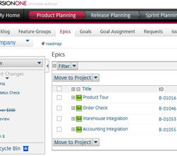 Manage Your Business Initiatives With Epics