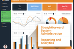 Tovuti screenshot: Reporting and Analytics