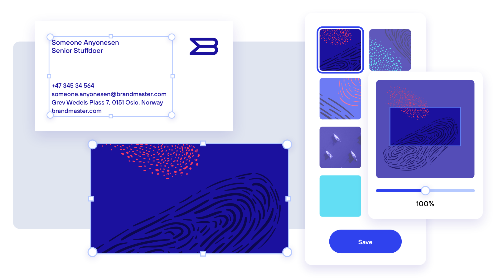 Template Studio - We can promise you greater control without adding to your workload. Pre-designed templates show everyone how it should be done and set a standard that's applied across the company.