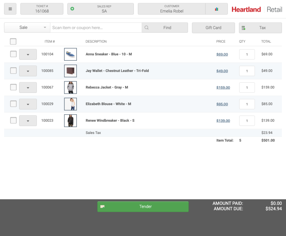 Heartland Retail Logiciel - 1