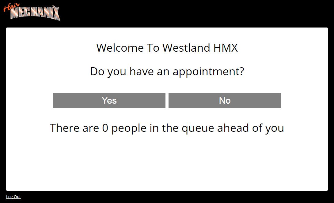 Customer check-in