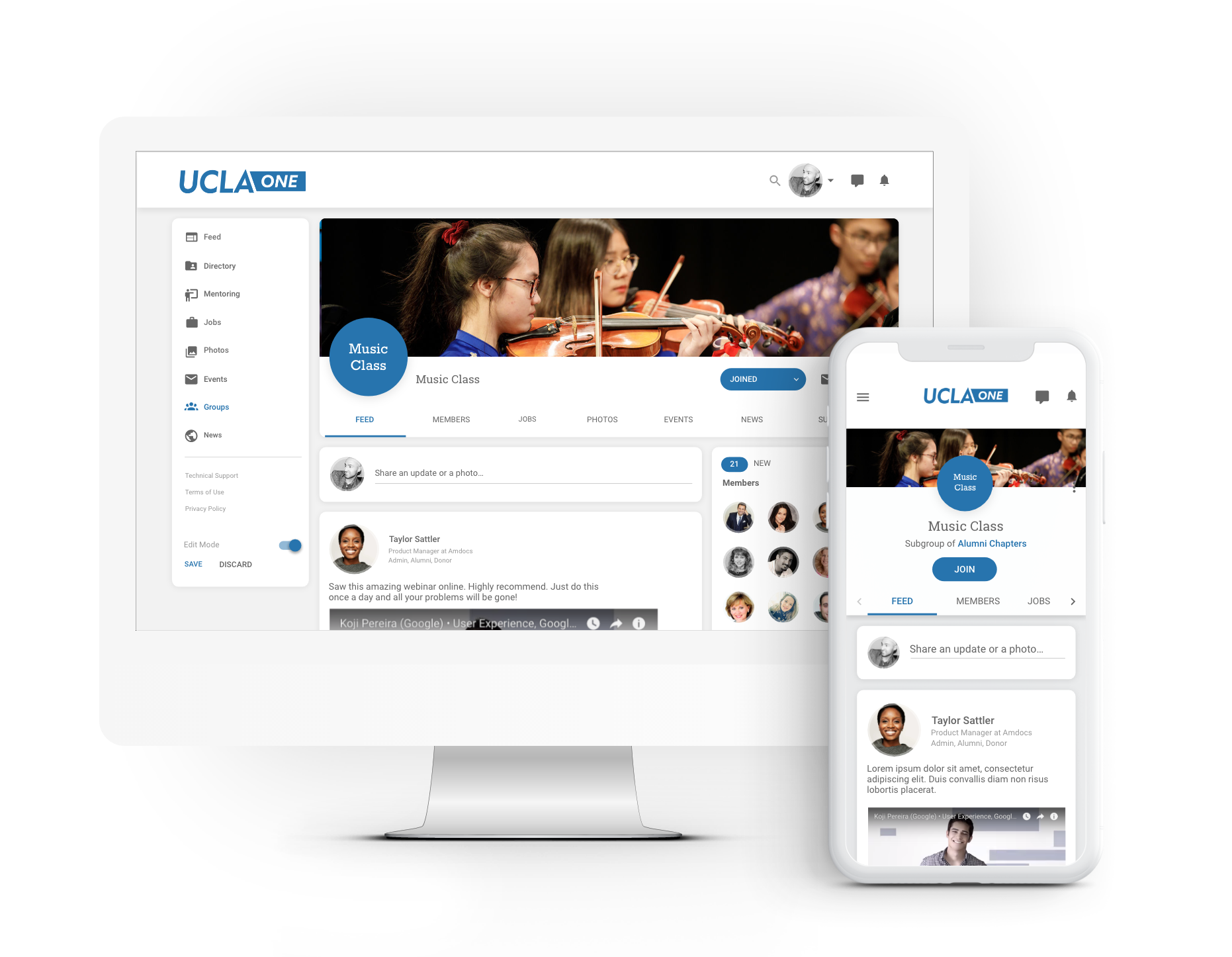Groups are an easy way to give your platform users an exclusive space to network with others in your community and to share dedicated and relevant content.