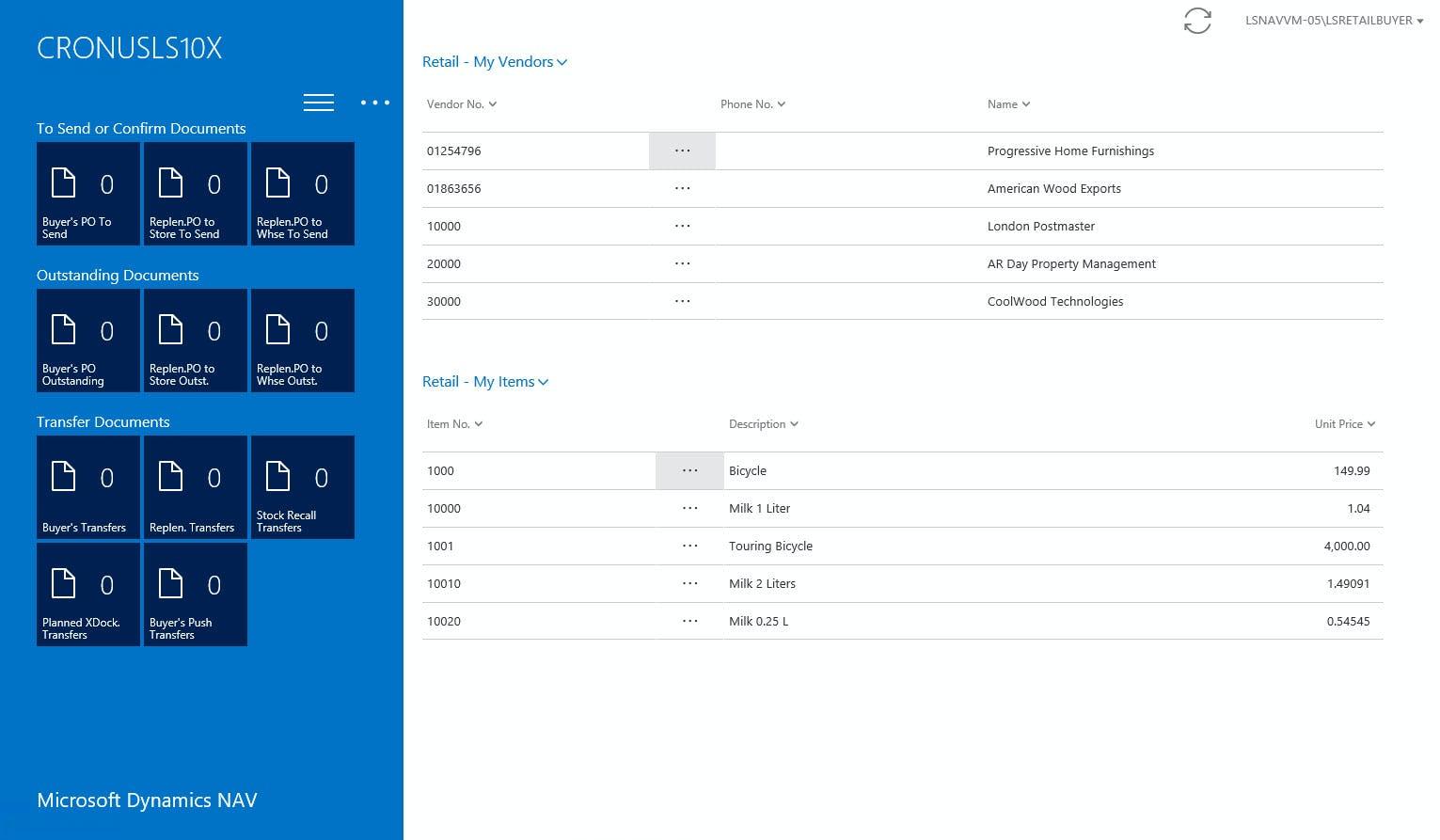 LS Retail Software - 3