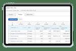 Capture d'écran pour Replicon : Replicon client management