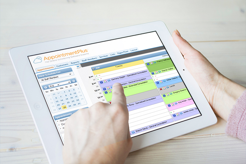 Take AppointmentPlus on the go with you through mobile apps for adminstrators.