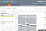 Capture d'écran pour ProWorkflow : ProWorkflow's drag and drop timesheet