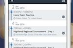 Allcal screenshot: Create and share a team calendar