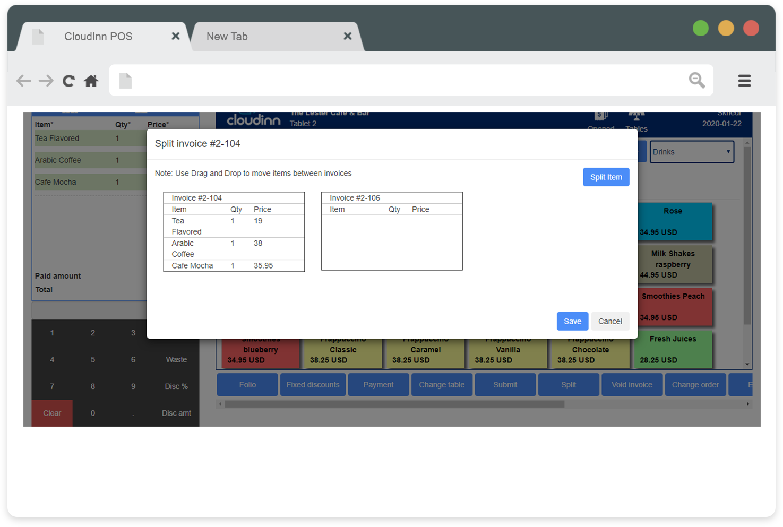 CloudInn invoice management