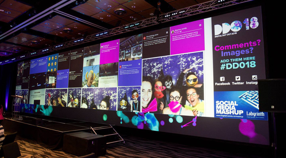 Contegro is built to work with any display resolution including a video wall, screen projector, and more