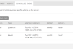 Capture d'écran pour CenturyLink : CenturyLink scheduled tasks