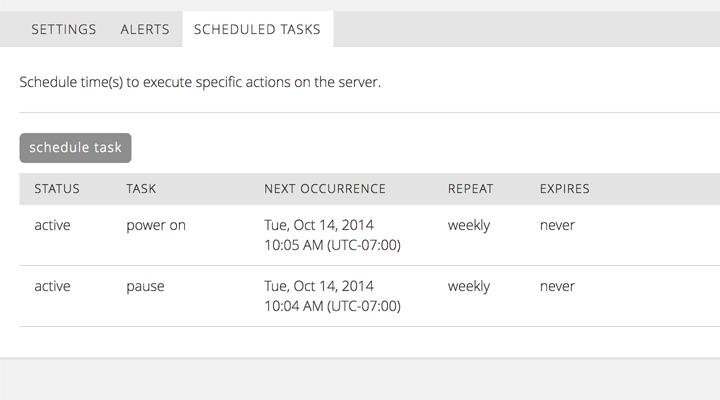 CenturyLink scheduled tasks