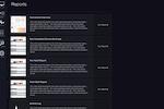 Captura de tela do Automox: Automox reporting