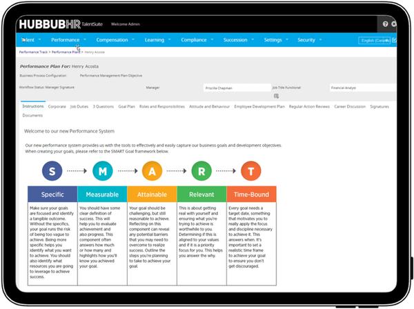HubbubHR performance plan overview