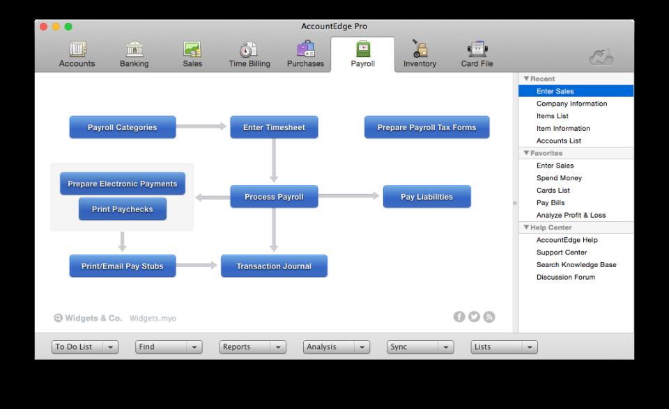 AccountEdge Software - 2